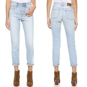 Madewell Jeans - NWT Madewell Denim HighRise Perfect Summer Jeans
